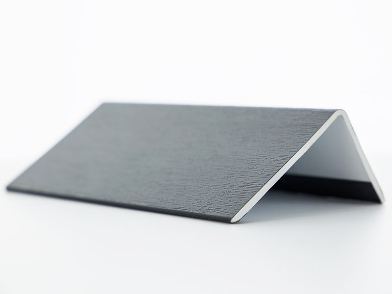 corni res pvc gris anthracite 100x100. Black Bedroom Furniture Sets. Home Design Ideas