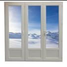 Porte Fenêtre 3 vantaux Hauteur 2080 mm x Largeur 1860 mm Stock limité