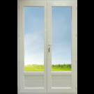 Porte Fenêtre 2 vantaux Hauteur 2180 mm x Largeur 1360 mm Stock limité