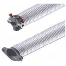 Ressort 50.8 mm fil 5.5 mm L= 800 mm gauche galvanisé