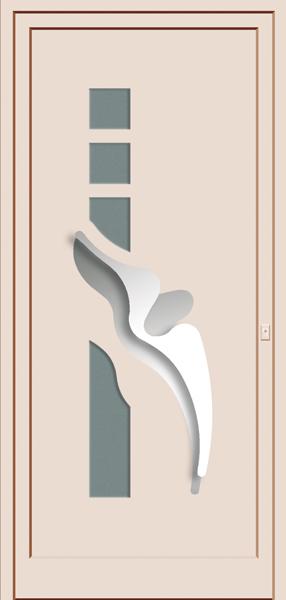 porte d'entrée sur mesure design