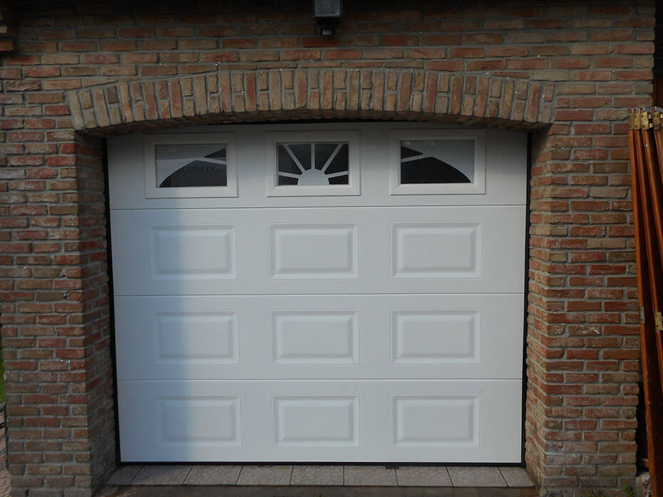 R alisations portes de garage sectionnelles mateco for Porte de garage rambouillet