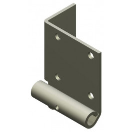 Console de base pour axe 10 mm EasyClick 200 galvanisée gauche