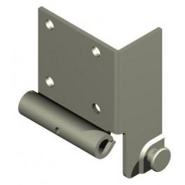 Console de base pour axe 10 mm EasyClick 200 galvanisée droite