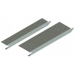 Cassettes APD simples 500 mm perforées galvanisées G et D