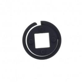 Embout pour tube carré 16 mm