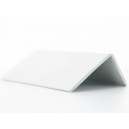 Cornières PVC Blanc 80x40