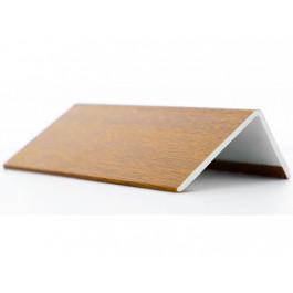 Cornières PVC Chêne Doré 100x60