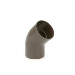 Coudes avec manchon 67° 30 Ø 80mm (413)
