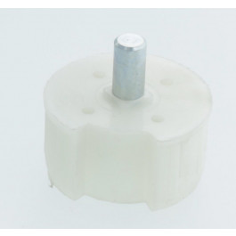 Embout pour tube rond 62 mm