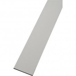 Lot de champs plats PVC Blanc 30 mm