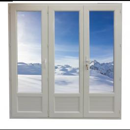 Porte Fenêtre 3 vantaux Hauteur 2180 mm x Largeur 1860 mm Stock limité