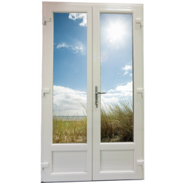 Porte Fenêtre 2 vantaux Largeur 1760 mm