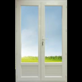 Porte Fenêtre 2 vantaux Hauteur 1980 mm x Largeur 1260 mm Stock limité
