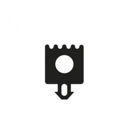 Joint  gris pour clips profil toiture de véranda (CY10)