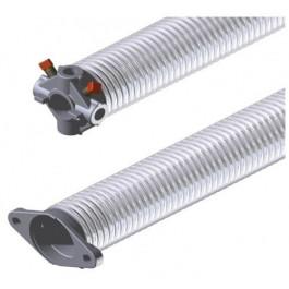Ressort 50.8 mm fil 5.0 mm L= 500 mm droit galvanisé