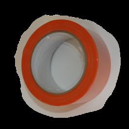 Ruban PVC orange Larg 50 mm x 33 m