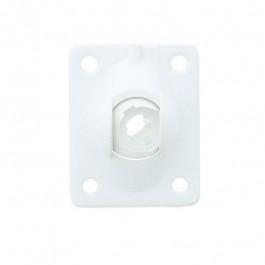 Sortie de caisson PVC blanc