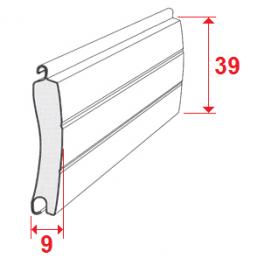 Lame Aluminium 39mm  isolée sur mesure