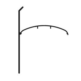 Top clips latéral à serrage à utiliser avec CLSB (CLSL)