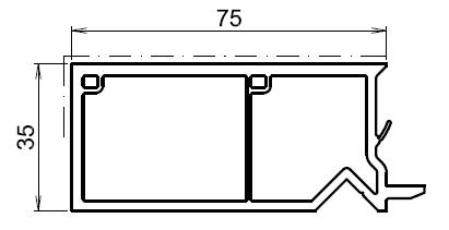 tap e d 39 isolation pour fenetre blanche 75mm. Black Bedroom Furniture Sets. Home Design Ideas