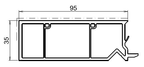 Tapée Disolation Pour Fenetre Chene Dore 95mm
