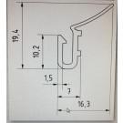 Echantillons de joints de porte de garage