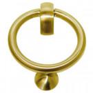 Heurtoir anneau laiton PVD