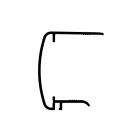 Obturateur perfofé pour plaque 32 mm (U32)