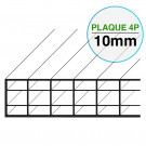 Plaque Polycarbonate 16 mm 3P Largeur 1200 mm