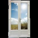 Porte Fenêtre 2 vantaux Largeur 1860 mm
