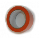 Ruban PVC orange Larg 50 mm x 33 m