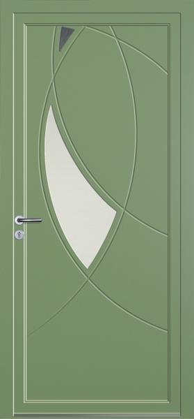 porte d'entrée sur mesure pvc