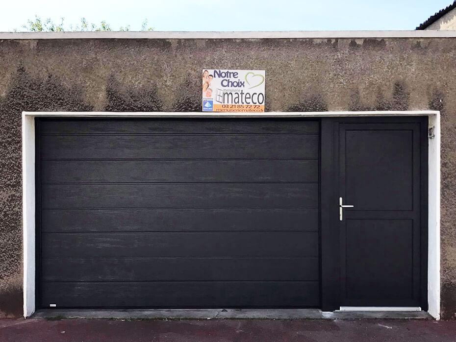 Ralisations Portes De Garage Sectionnelles  Mateco