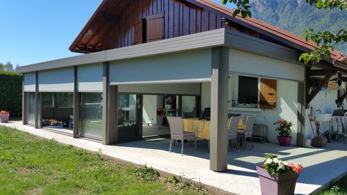 Vérandas toiture plate - Vérandas - Vérandas
