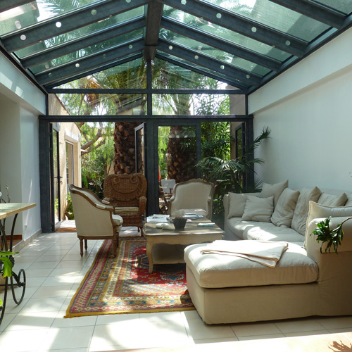 verandas toiture classique